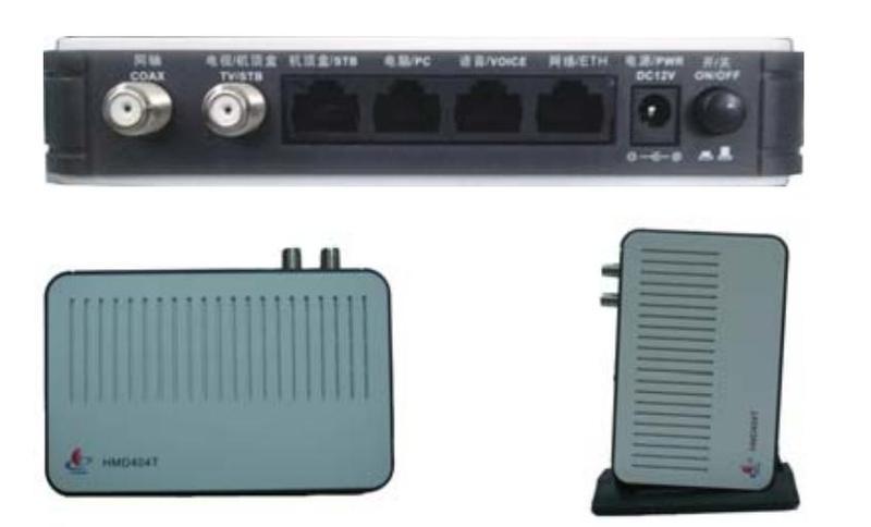 t同用户家中的电脑或机顶盒连接,组成具备双向传输能力的互动有线网络